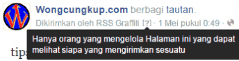Layanan Auto Share RSS Graffiti Ditutup