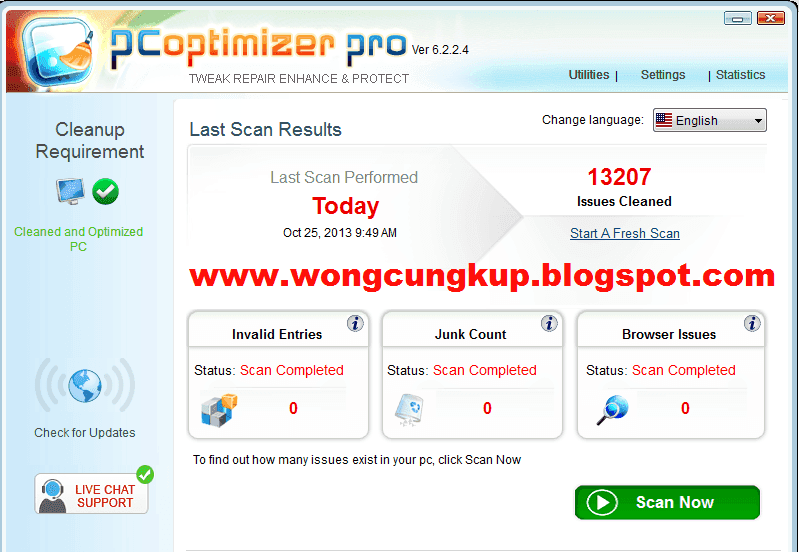 PC Optimizer Pro terbaru full crack