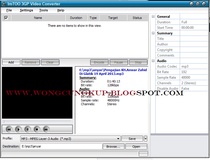 imtoo 3gp video converter
