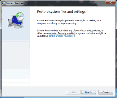 Cara Reset Windows 7 Ke Setelan Default