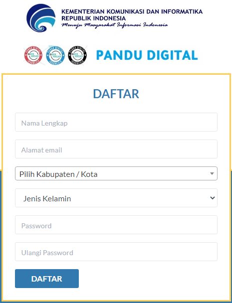 Program pandu digital